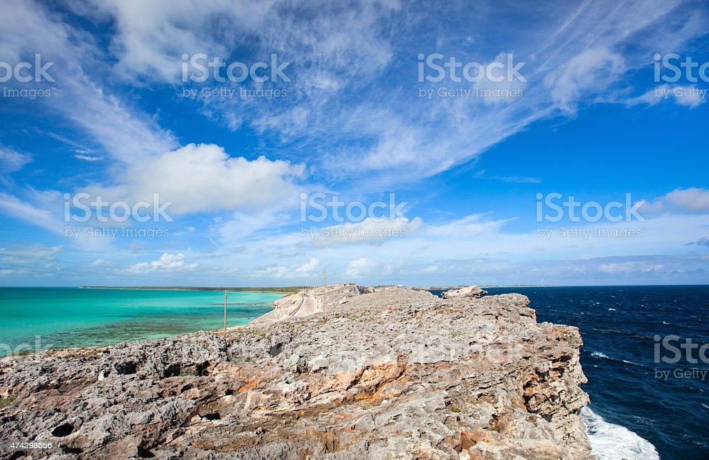 Eleuthera island stock photo