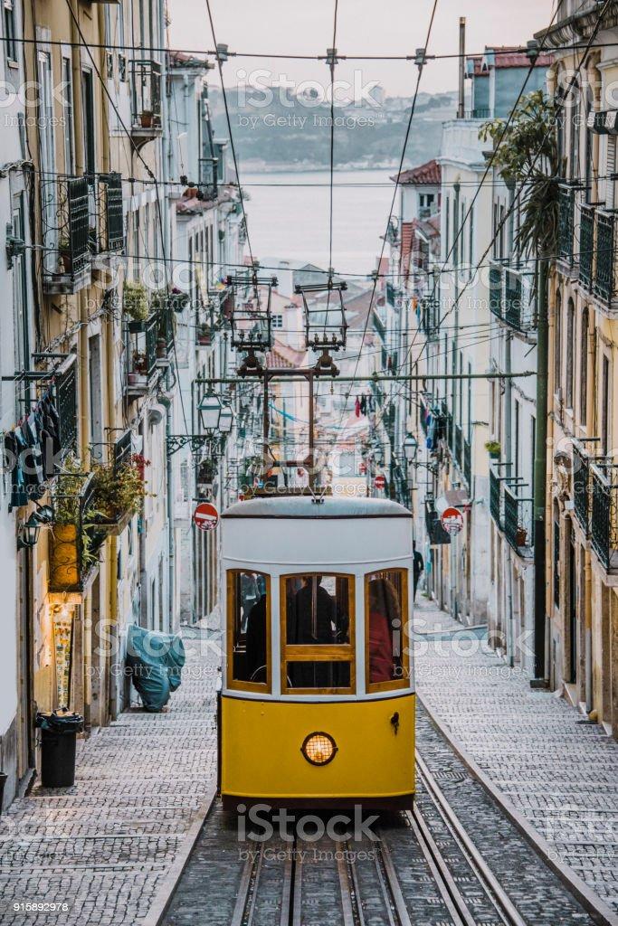 Elevador da Bica, Lissabon – Foto