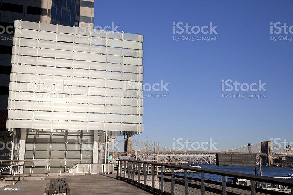 Elevado hectares em Manhattan - foto de acervo