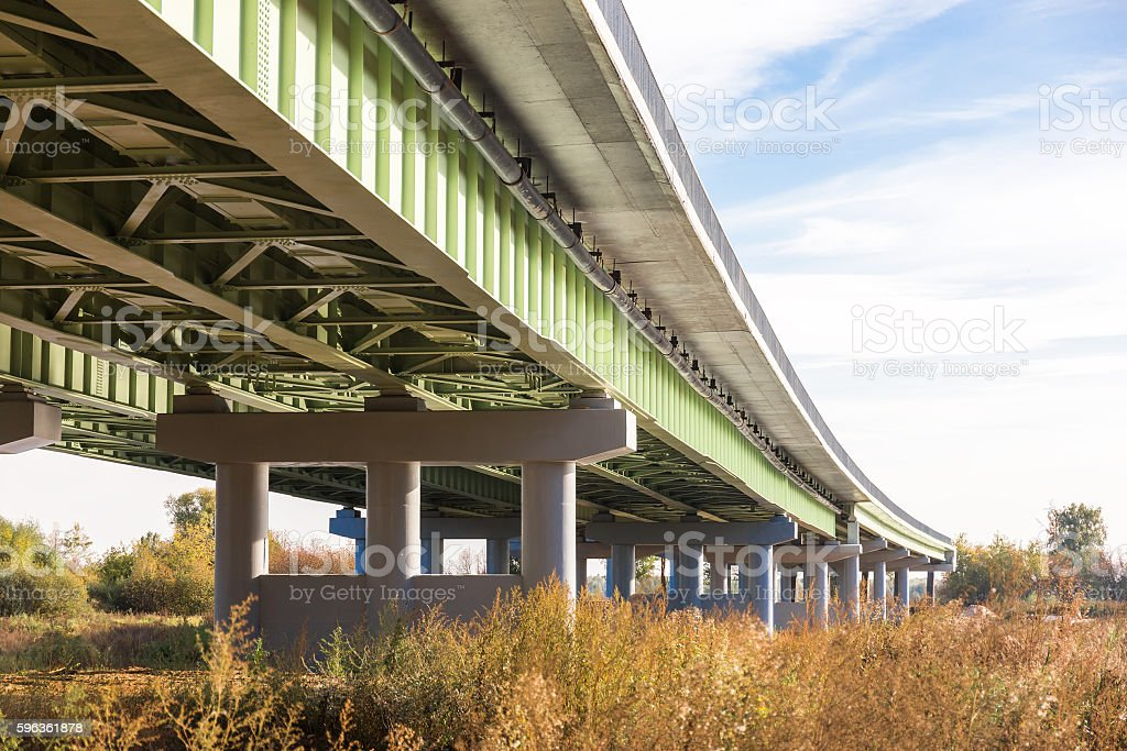 Elevated road royalty-free stock photo