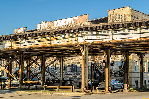 Elevated Track stock photo