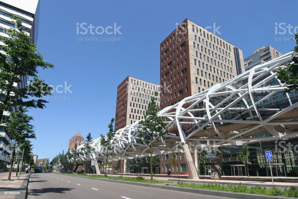 Elevated Train royalty-free stock photo