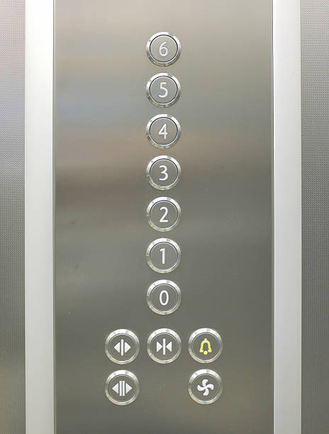 Elevator buttons Elevator buttons button sewing item stock pictures, royalty-free photos & images