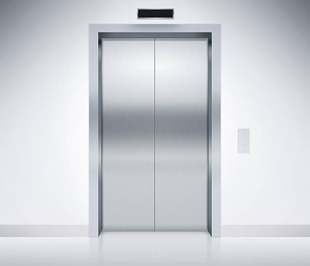 Fahrstuhl Türen geschlossen – Foto