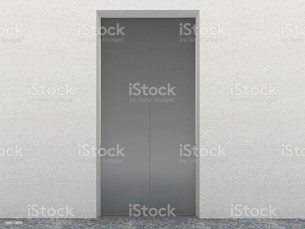 Elevator Interior royalty-free stock photo