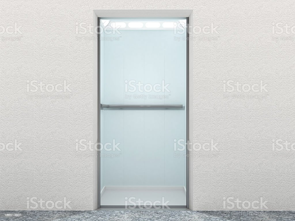Elevator Interior royalty-free stock photo