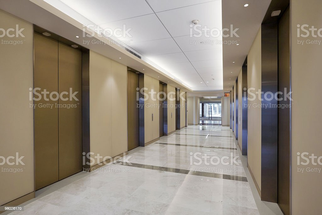 Ascensore della hall lato nord foto stock royalty-free