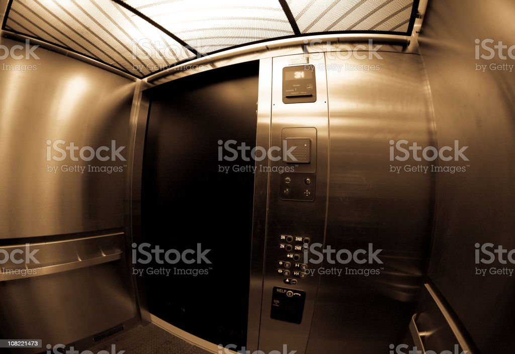 Elevator royalty-free stock photo