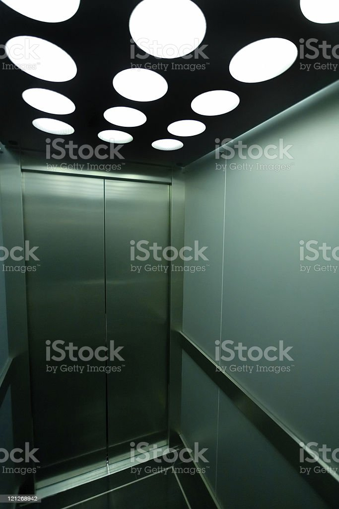 Elevator (XLarge) royalty-free stock photo