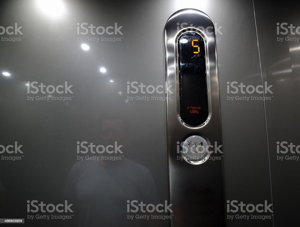 Elevator stock photo