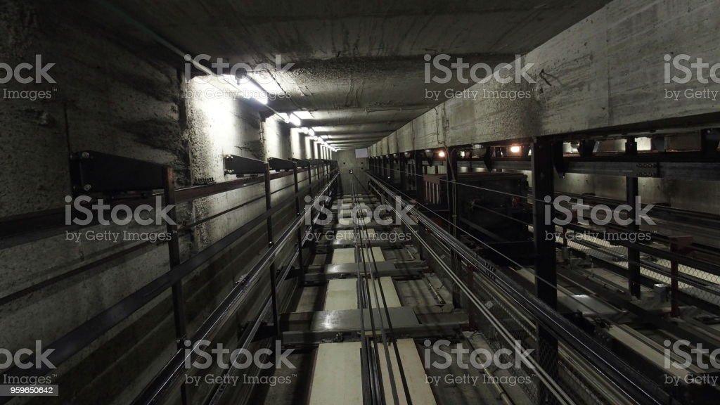 Ascensor - Foto de stock de Acero libre de derechos