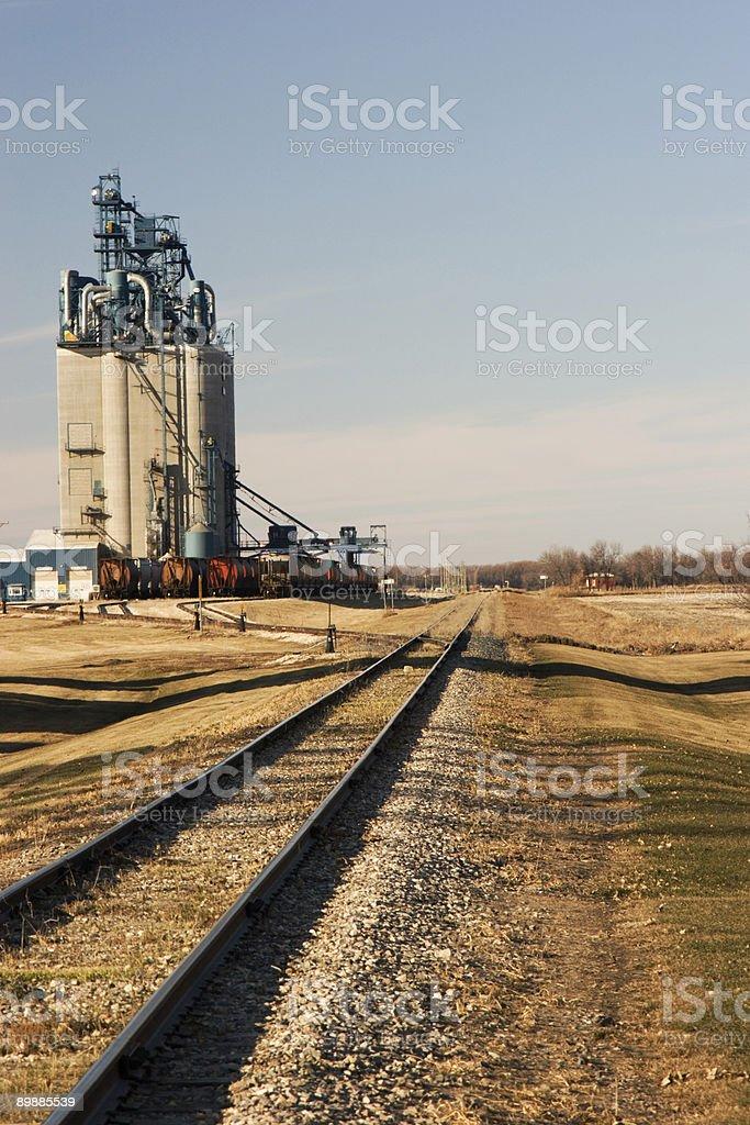 Elevator Tracks royalty-free stock photo