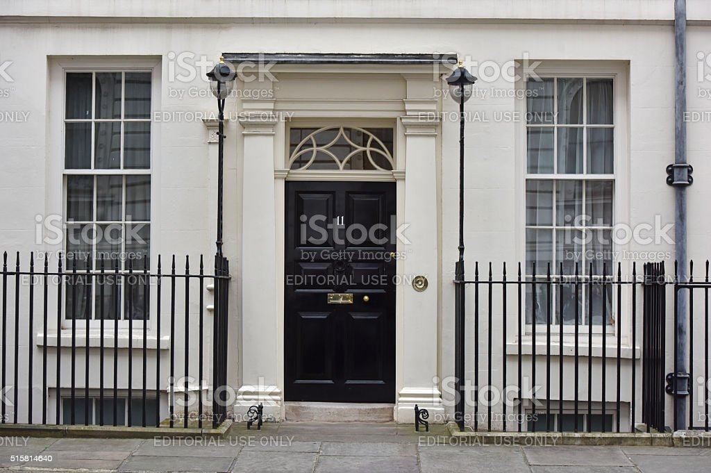 Eleven Downing Street stock photo