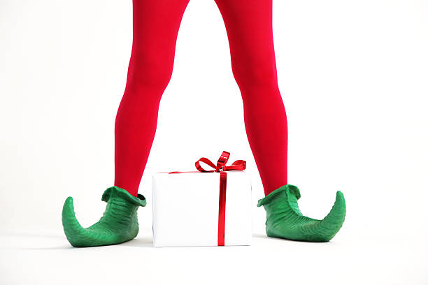 Elf legs stock photo