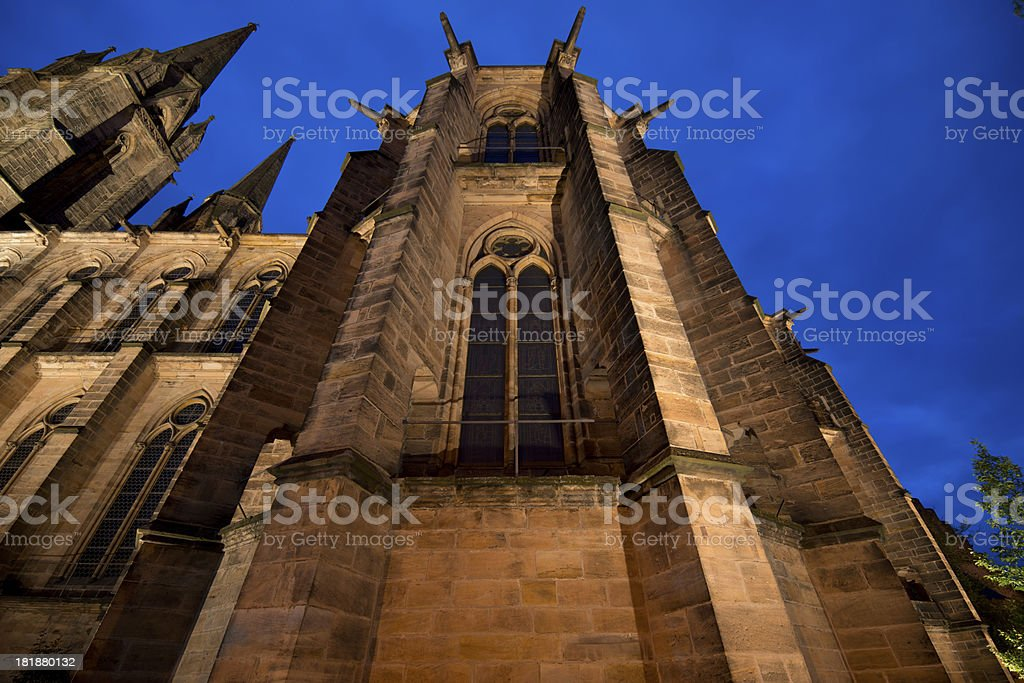 Elisabeth church in Marburg, Germany royalty-free stock photo