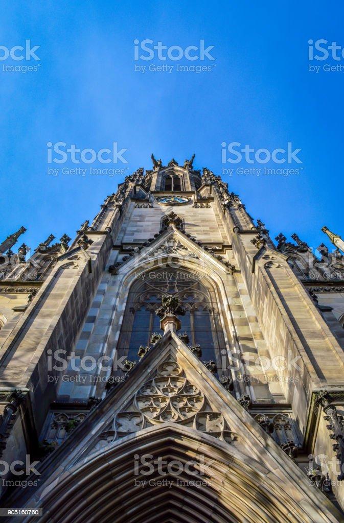 Elisabethenkirche - St. Elisabeth Church in Basel, Switzerland stock photo