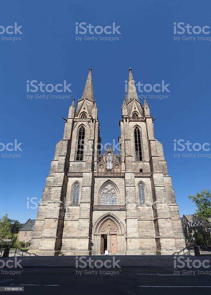 Elisabethkirche Marburg royalty-free stock photo