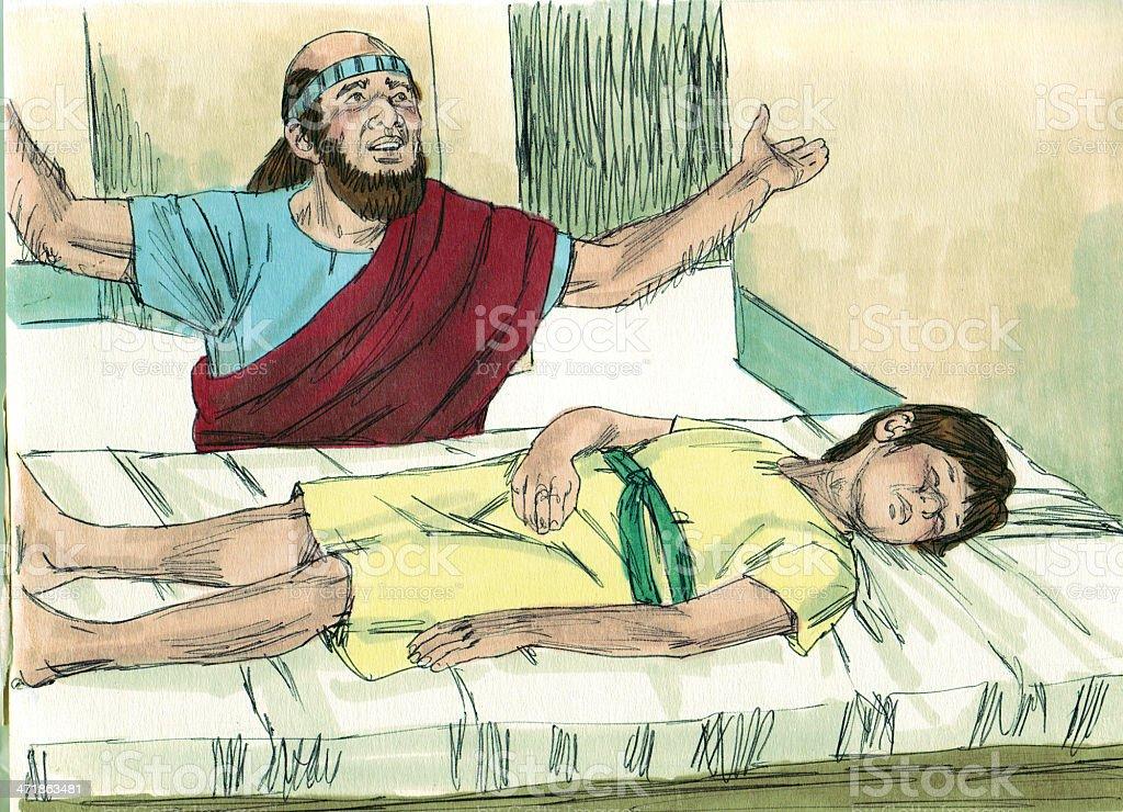 Elisha Prays For Shunammite Womans Son