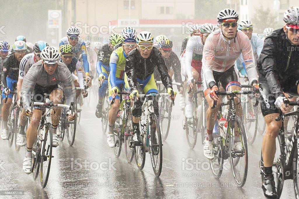 Elite Men Florence 2013 stock photo