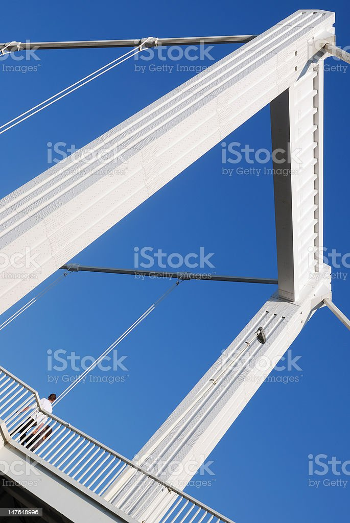 Elizabeth bridge 6. royalty-free stock photo