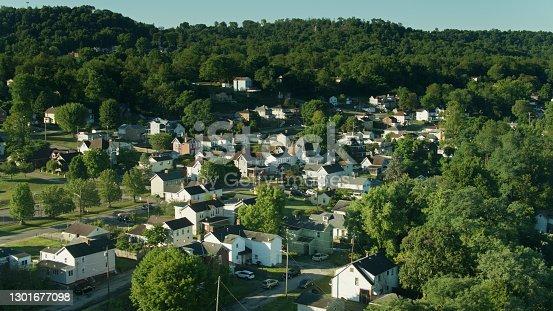 istock Elizabeth, Pennsylvania - Aerial Shot 1301677098
