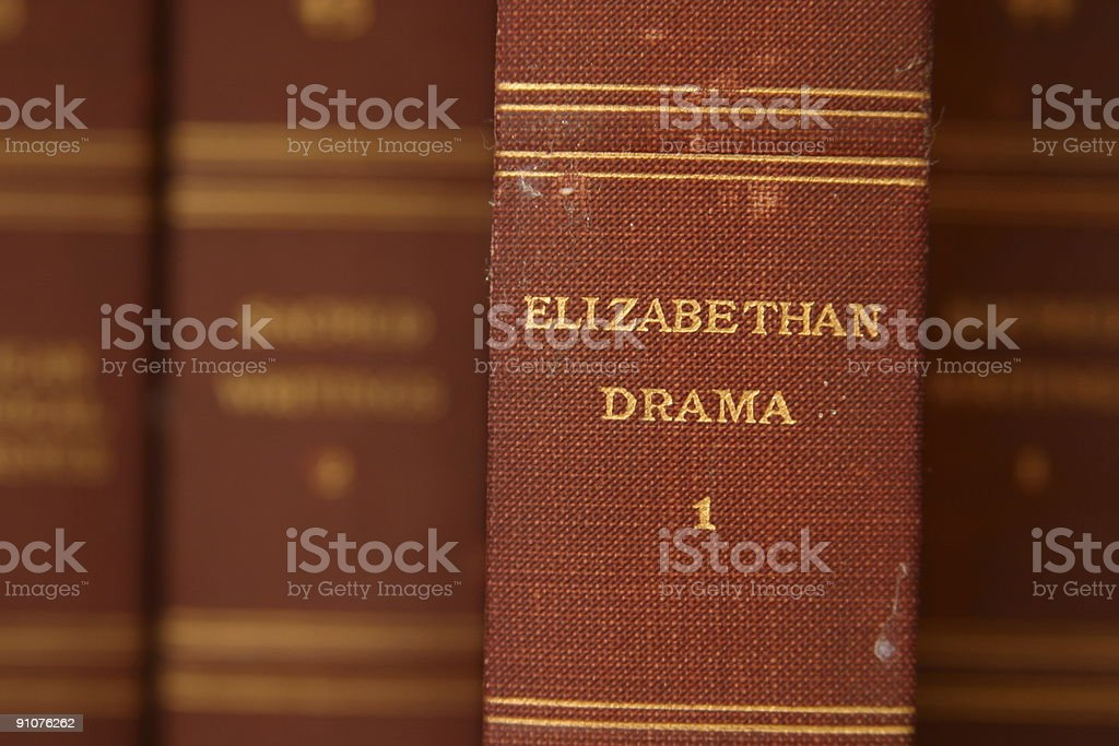 Elizabethan Drama stock photo