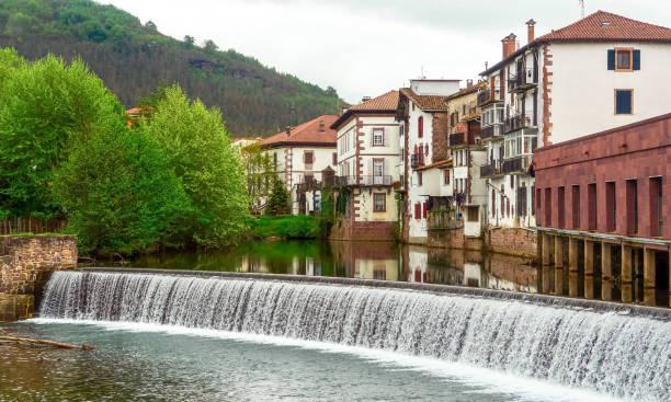 Elizondo, Navarre, Spain stock photo