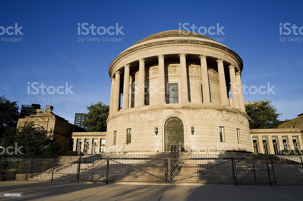 Elks Headquaters royalty-free stock photo