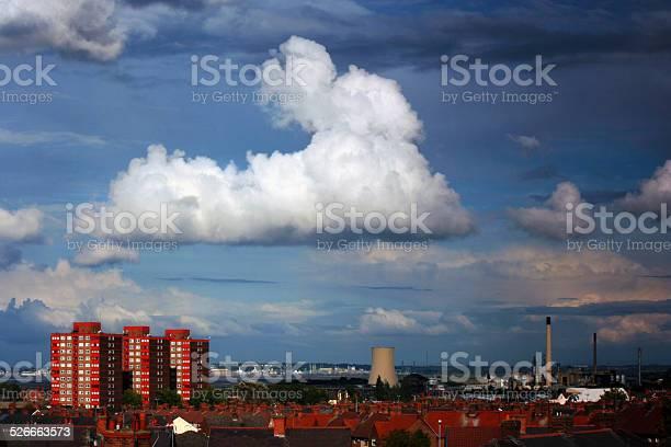 Ellesmere Port Landscape Stock Photo - Download Image Now