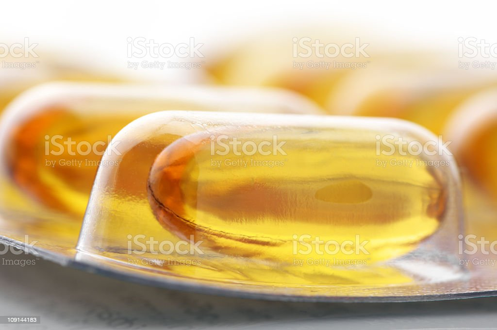 Ellipse capsules royalty-free stock photo