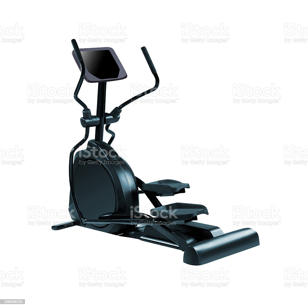 Elliptical gym machine royalty-free stock photo