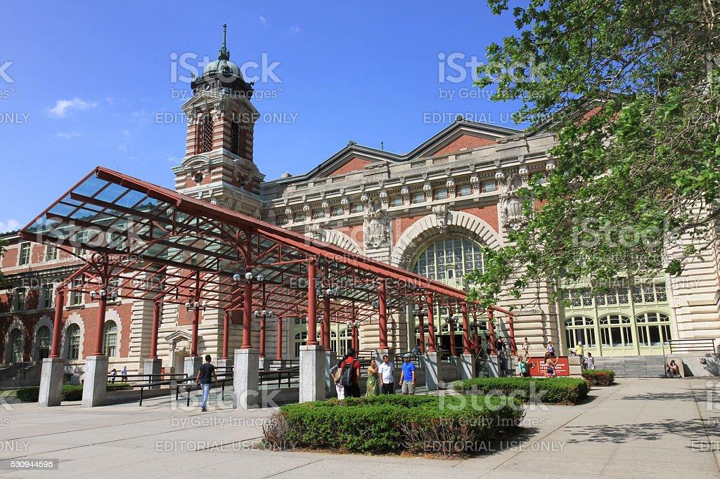 Ellis Island National Museum of Immigration stock photo