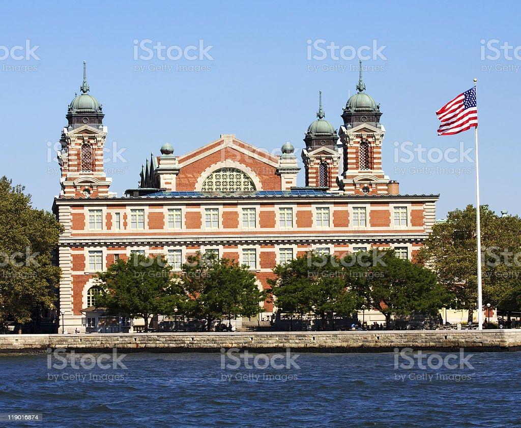 Ellis Island, New York City area stock photo