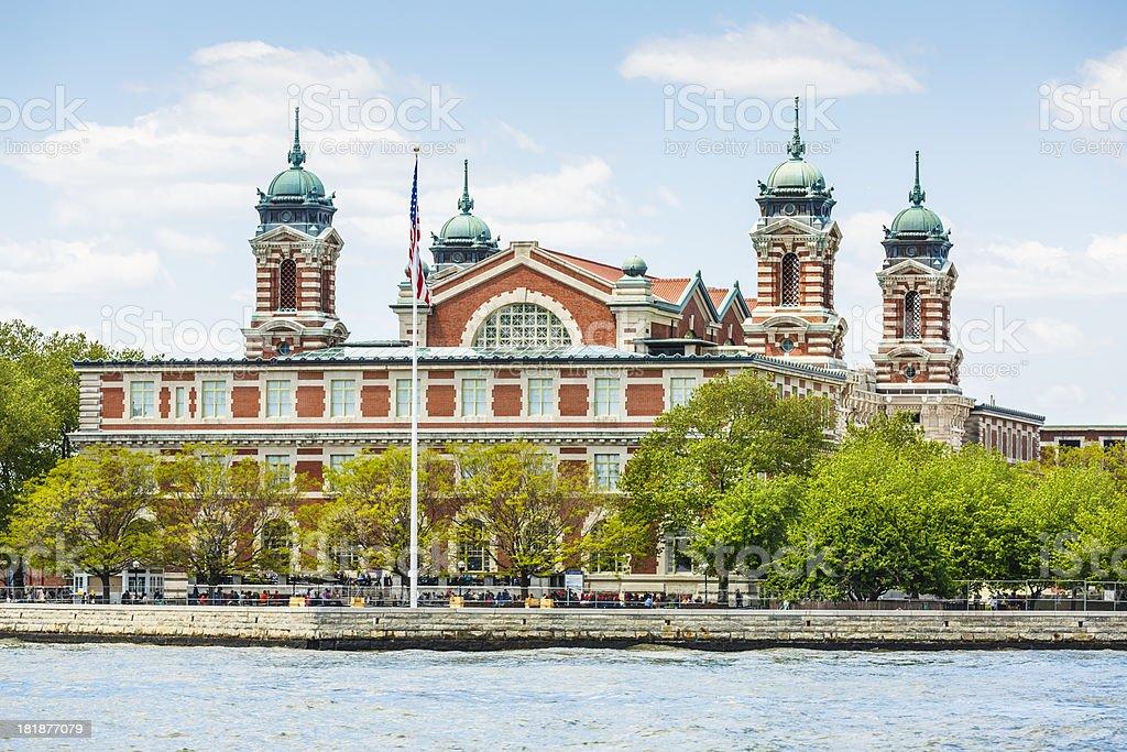 Ellis island, New York City, USA stock photo
