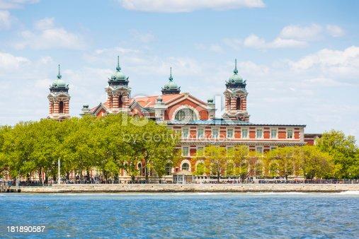 Ellis island, New York City, USA.