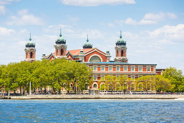 Ellis island, New York City, USA stock photo