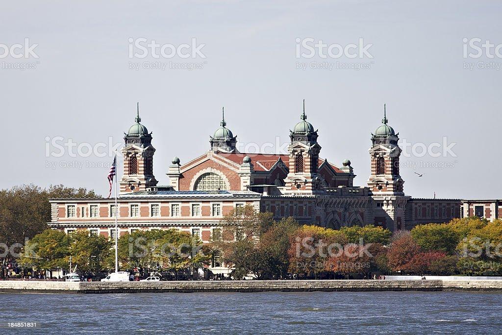 Ellis Island. New York City. USA. stock photo
