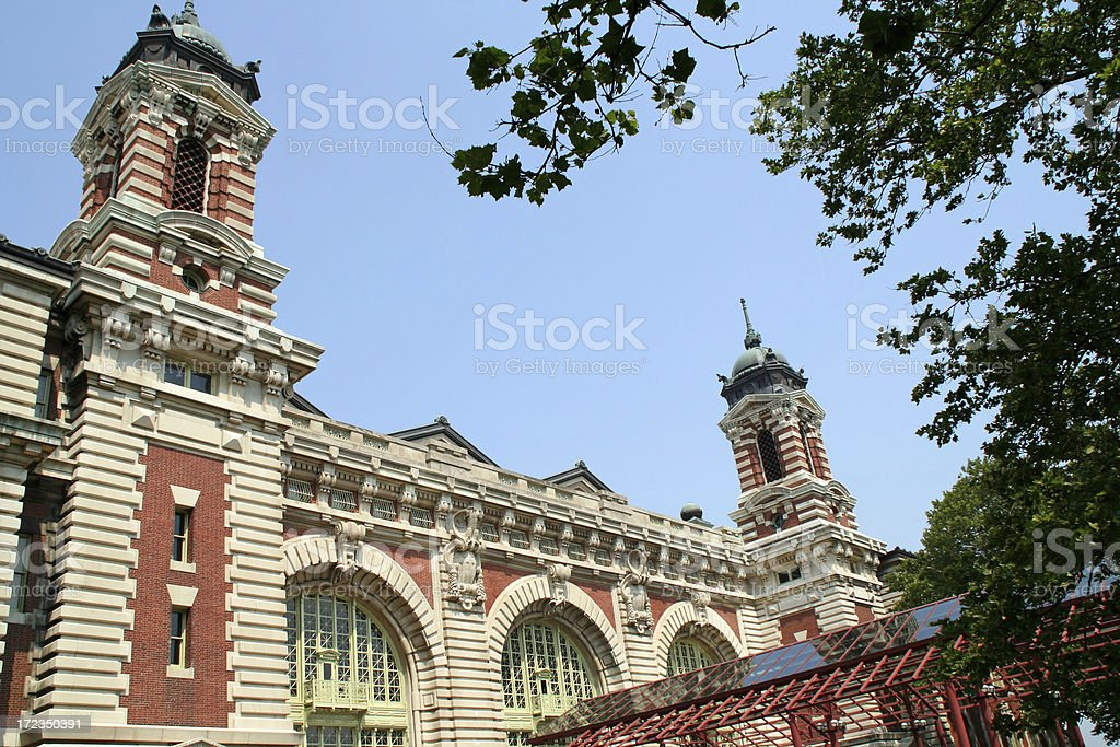 Ellis Island - New York # 2 stock photo