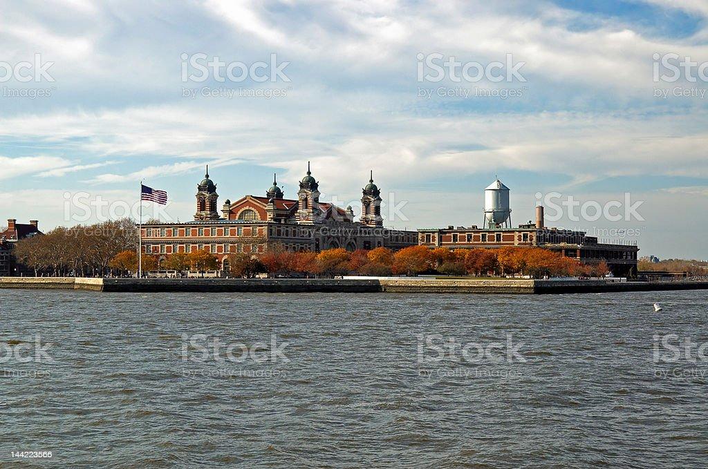 Ellis Island NYC stock photo