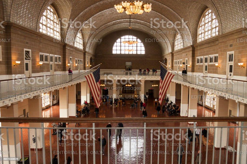 Ellis Island – Stockfoto stock photo