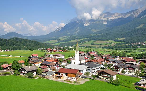 Ellmau, Tirol, Österreich – Foto