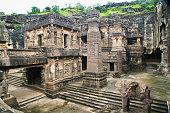 istock Ellora Caves Buddhist Temples in Arrangabad India 483561330