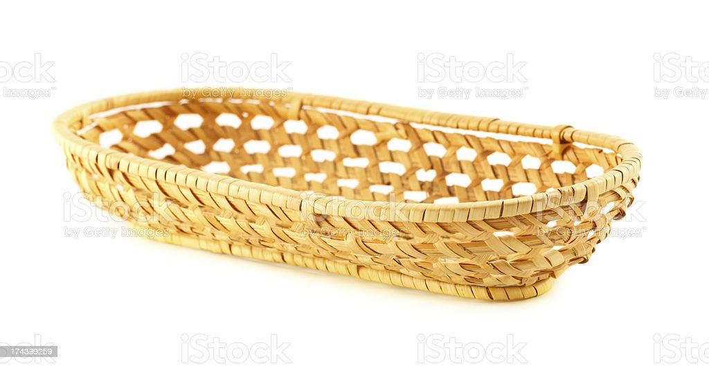 Elm Basket royalty-free stock photo