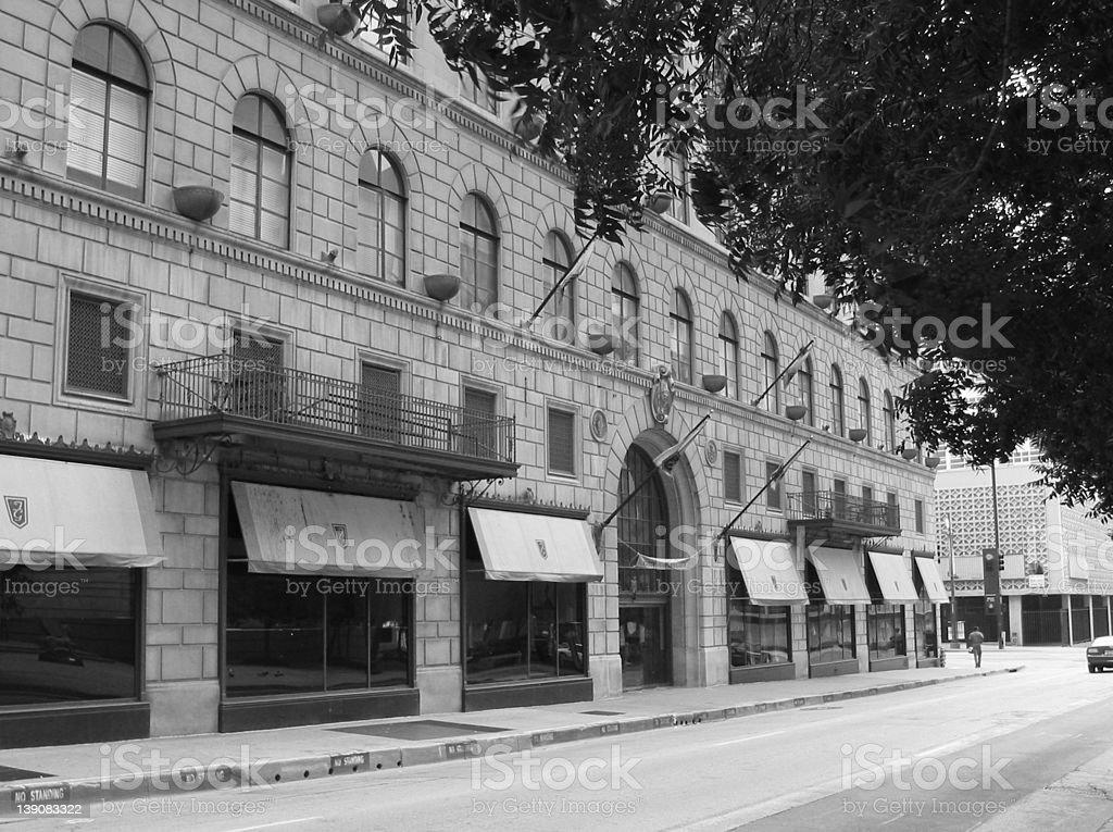 1900 Elm Street stock photo