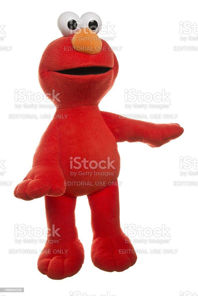 Elmo royalty-free stock photo
