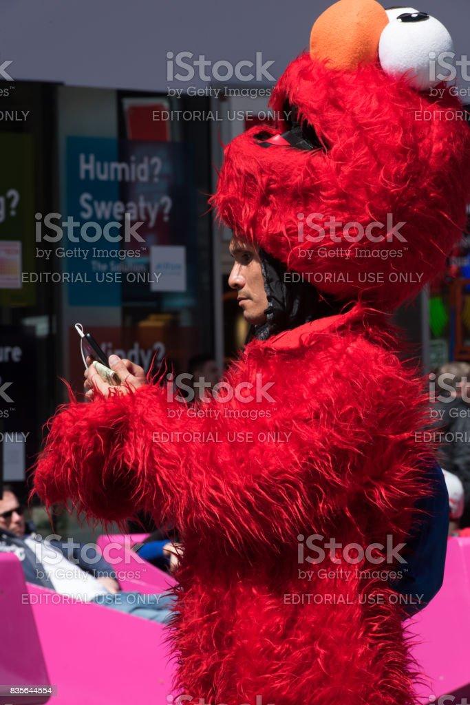 Elmo stock photo
