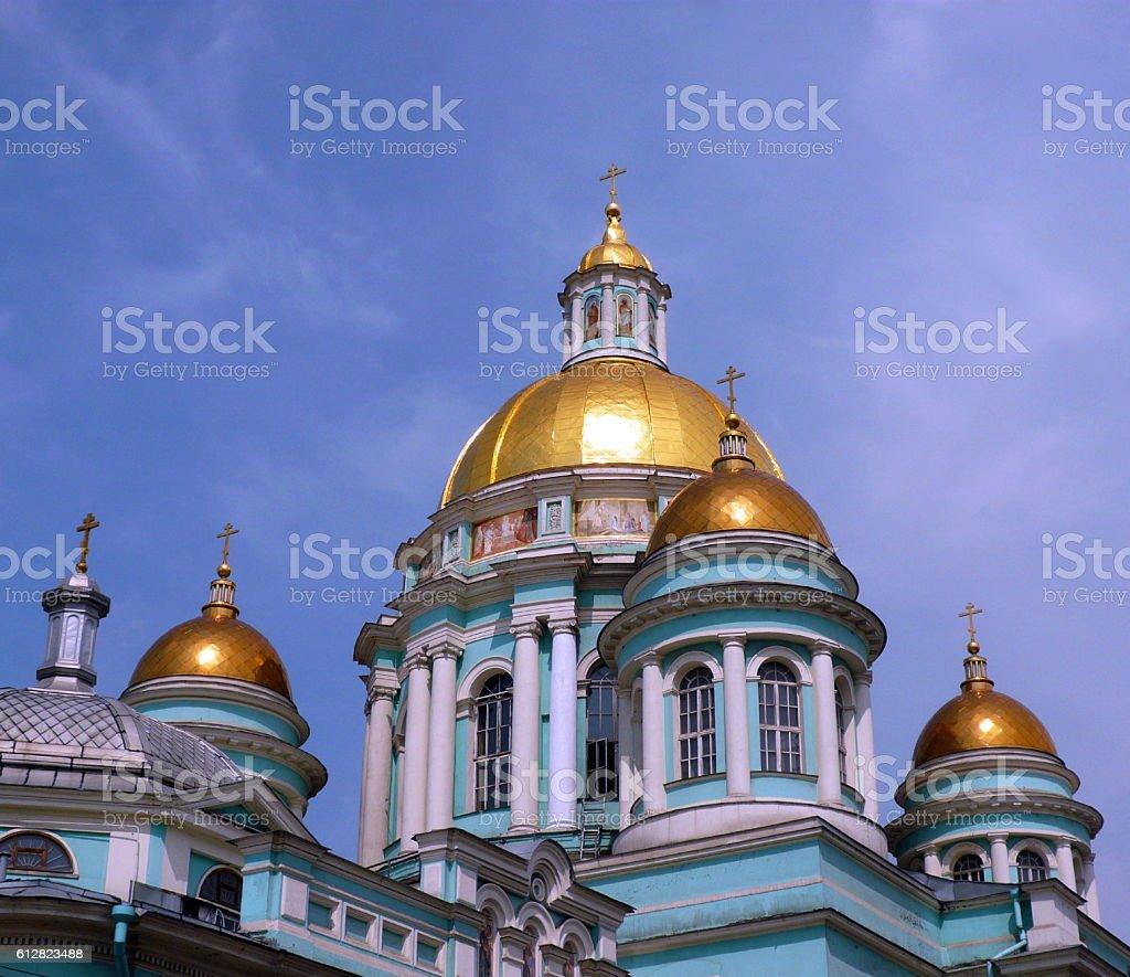elohovskiy cathedral stock photo