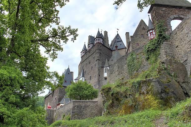 Eltz Castle (Burg Eltz), Germany. stock photo