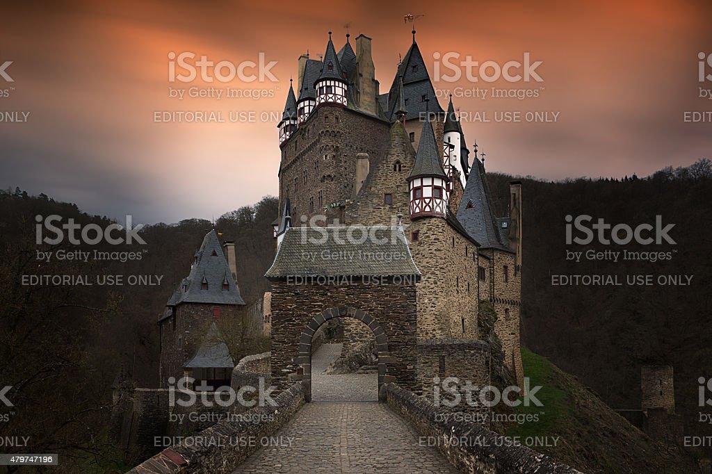 Eltz castle, Germany stock photo