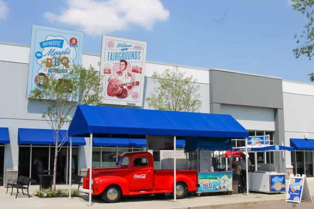 Elvis Car Museum stock photo